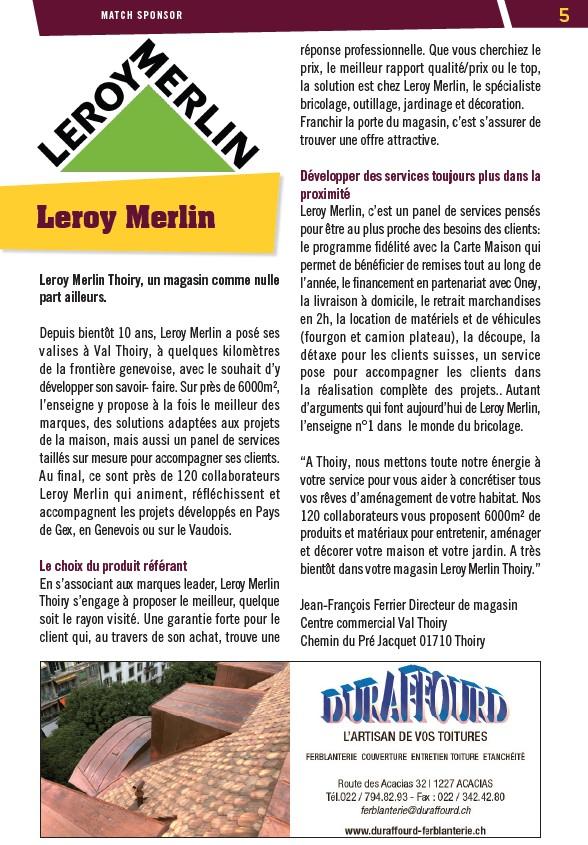 Saison 20192020 Le Grenat 13 Page 5