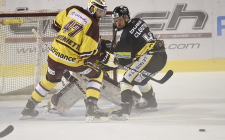 Coupe Suisse: Ajoie - GSHC (1-4)
