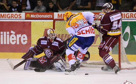 GSHC vs Kloten - Le match de Vukovic