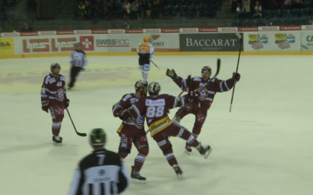 GSHC vs Lugano 4-2 Pink Night