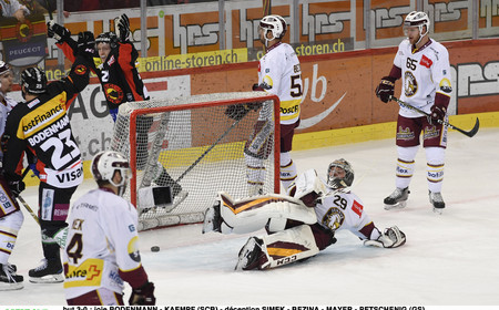 NL : SCB-GSHC PLAYOFFS ACTE I (7-0)