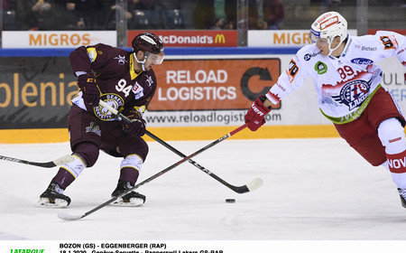 NL : GSHC vs Rapperswil - Opération Peluches
