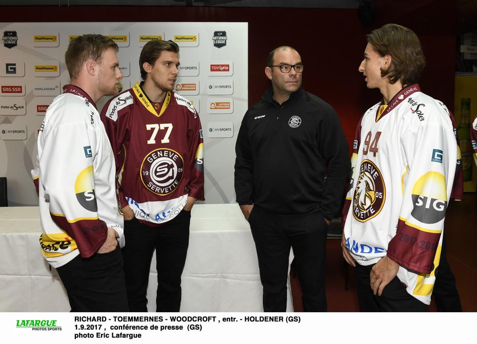 Conférence de presse avant saison - Genève-Servette Hockey ...